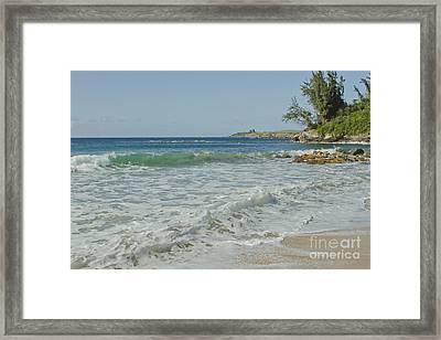 Kapalua Dt Fleming Beach Park Honokahua Bay Maui Hawaii Framed Print by Sharon Mau