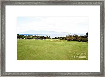 Kapalua No.7 Framed Print