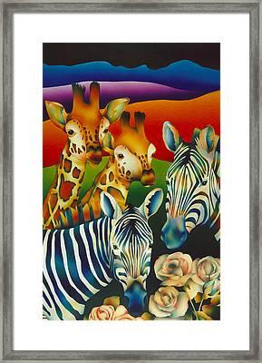 Kapiti Spirits Framed Print