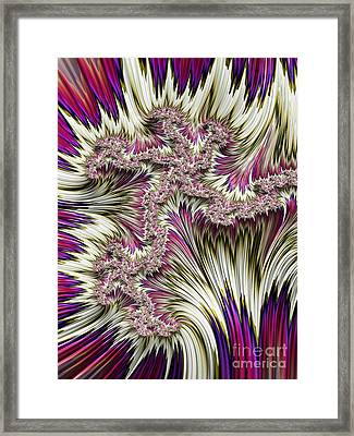 Kapow Framed Print by John Edwards