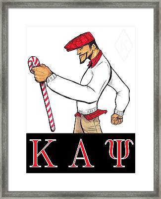 Kappa Alpha Psi Framed Print by Tu-Kwon Thomas