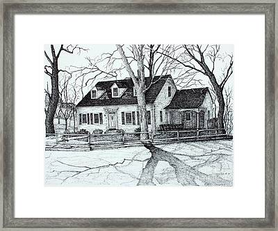 Kappa Sigma House Apsu Framed Print