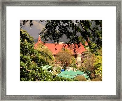 Kapurthala Palace Mussoorie Framed Print by Salman Ravish