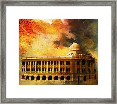 Karachi Port Framed Print by Catf
