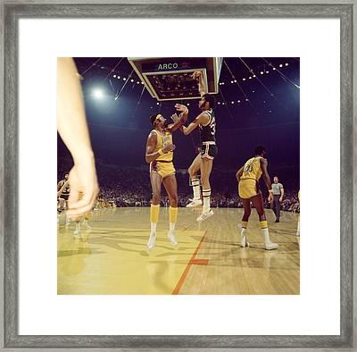 Kareem Abdul Jabbar  Framed Print