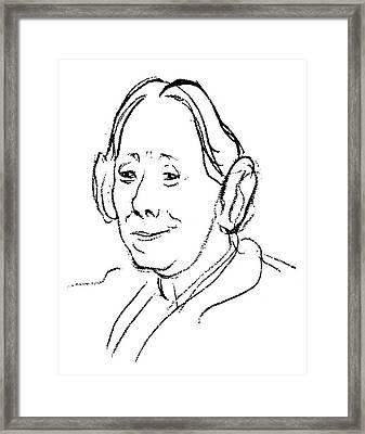 Karen Horney (1885-1952) Framed Print