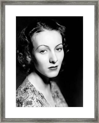 Karen Morley, Ca. 1934 Framed Print