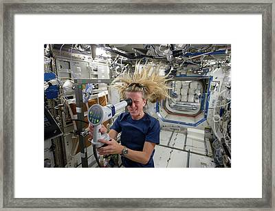 Karen Nyberg Framed Print