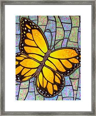 Karens Butterfly Framed Print by Jim Harris
