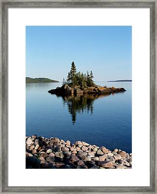 Karin Island - Photography Framed Print