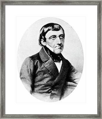 Karl Ernst Von Baer Framed Print