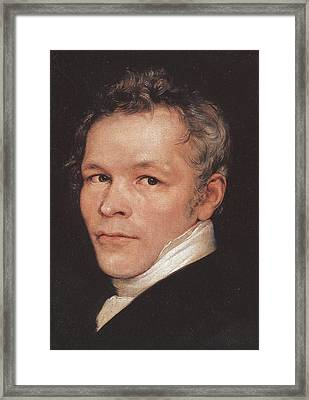 Karl Friedrich Schinkel Framed Print by Celestial Images
