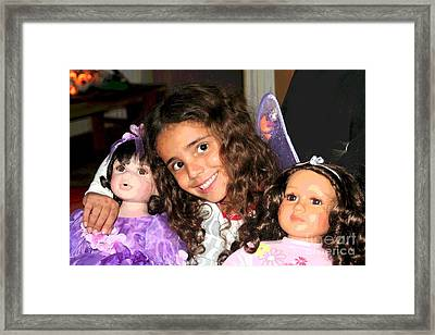 Karla's Dolls Framed Print