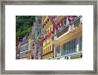 Karlovy Vary Framed Print