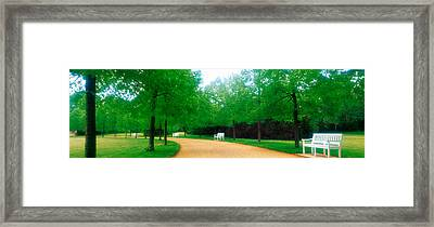 Karlsaue Park Kassel Germany Framed Print by Panoramic Images