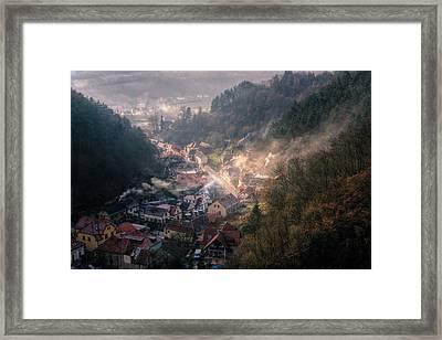 Karlstejn Framed Print