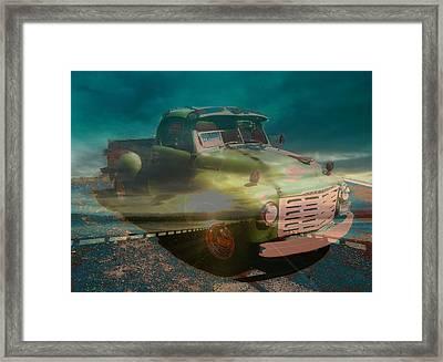 Karma Cruiser Framed Print by Laureen Murtha Menzl