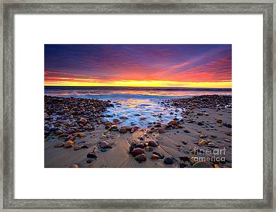 Karrara Sunset Framed Print