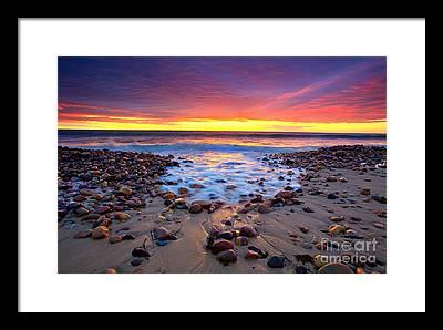 Australian Beach Framed Prints