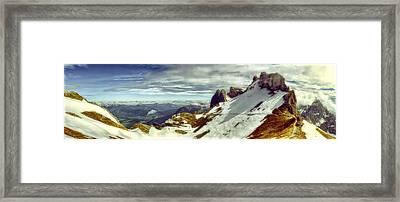Karwendel Light Framed Print