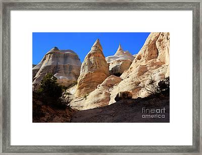 Kasha-katuwe Tent Rocks Framed Print by Bob Christopher