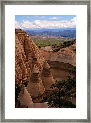 Kasha Katuwe View Framed Print by Daniel Woodrum