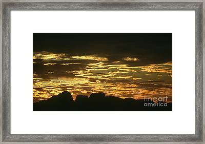 Framed Print featuring the photograph Kata Tjuta Australia 3 by Rudi Prott