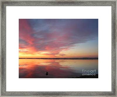 Katama Sunrise Framed Print