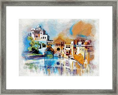 Katas Raj Temple Framed Print by Catf