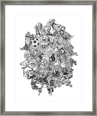 Kate And Andy Framed Print by Tyler Auman