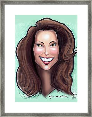 Kate Middleton Framed Print by Kevin Middleton