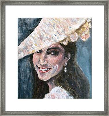 Duchess Of Winsor Framed Print by Yvonne  Taylor