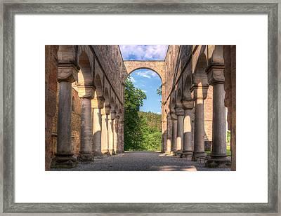 Katedral Framed Print