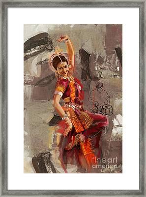 Kathak 21 Framed Print