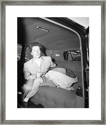 Katherine Hepburn Framed Print by Retro Images Archive