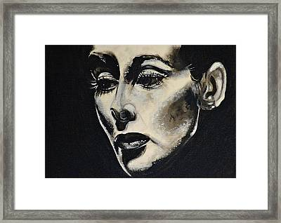 Framed Print featuring the painting Katherine by Sandro Ramani