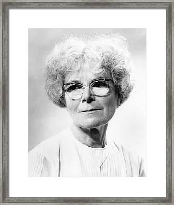 Kathleen Lonsdale Framed Print