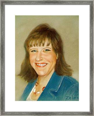 Kathleen Framed Print by Zelma Hensel