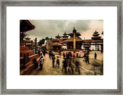 Kathmandu Dream Framed Print