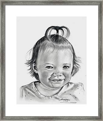 Emma Framed Print by Barb Baker