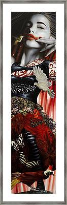 Katrina The Unforseen Framed Print by Vic Lee