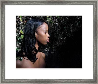 Katryna 1-2 Framed Print by David Miller