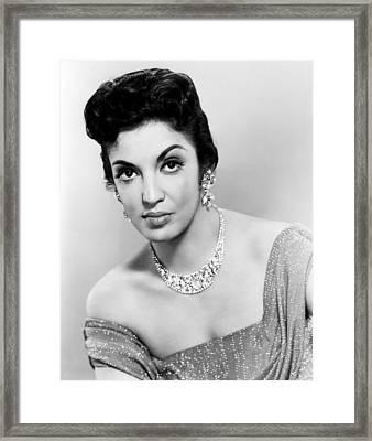 Katy Jurado, 1958 Framed Print by Everett