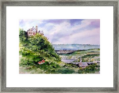Katz Castle Framed Print