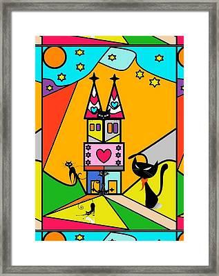 Katzenjammer By Nico Bielow Framed Print