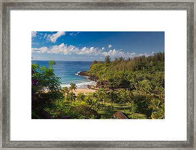 Kauai Allerton Estate Framed Print by Sam Amato