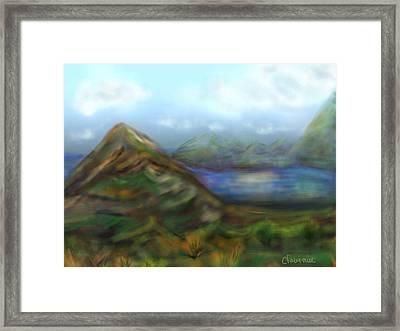 Kauai Framed Print by Christine Fournier
