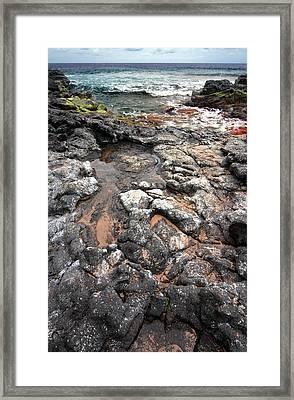 Kauai Seascape II Framed Print by Maxwell Amaro