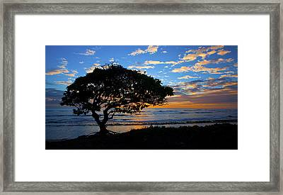 Kauai Sunrise Framed Print