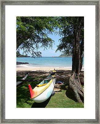 Kauai Watersports Framed Print by Dee  Savage